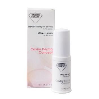 Henriette faroche caviar derma concept oogcrème
